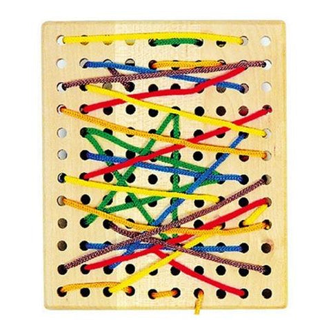 Legler Threading Board Preschool Learning Toy