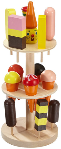 Childrens Wooden Ice Cream Lolly Stand