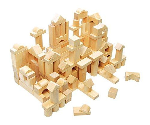 small foot 7073 Natural wooden building blocks