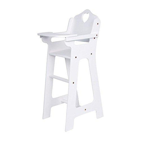 Legler Doll's High Chair (White)