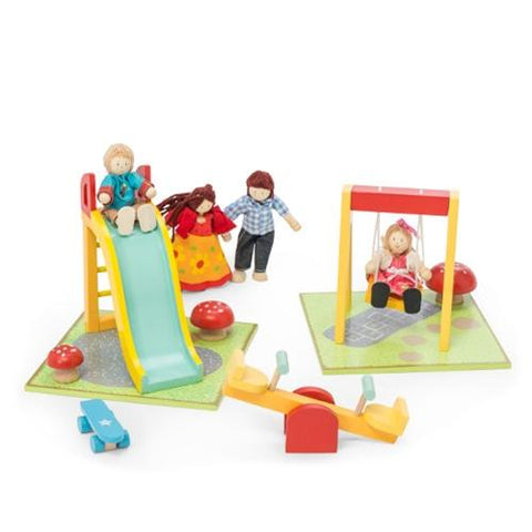 Le Toy Van Dollhouses Outdoor Playset