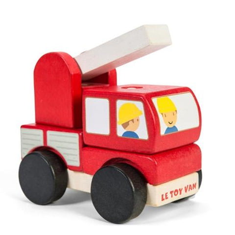 Le Toy Van Motors & Garages Fire Engine Stacker