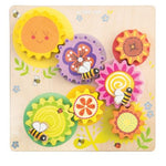 Le Toy Van Petilou Busy Bee Learning Gear and Cog Set