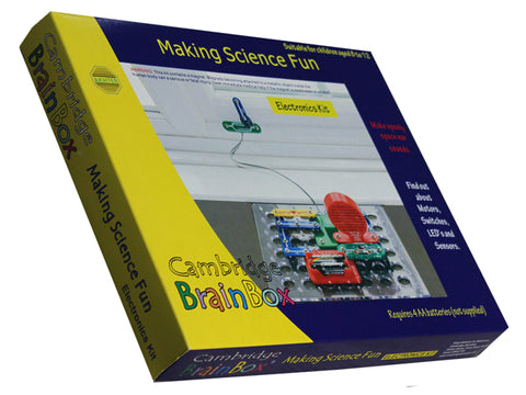 Cambridge Brainbox Making Science Fun Electronics Kit