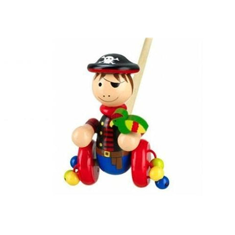 Orange Tree Toys Pirate Boy Push Along