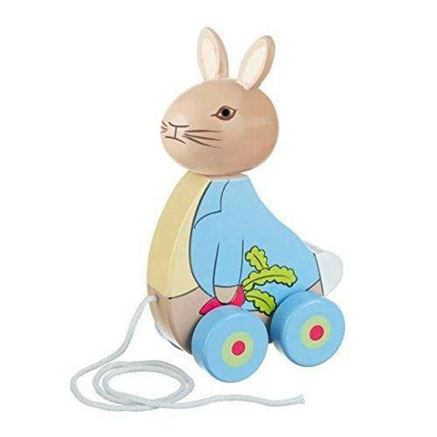Orange Tree Toys Peter Rabbit Pull Along Wooden Toy