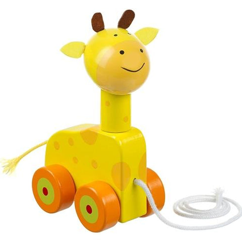 Orange Tree Toys Giraffe Pull Along