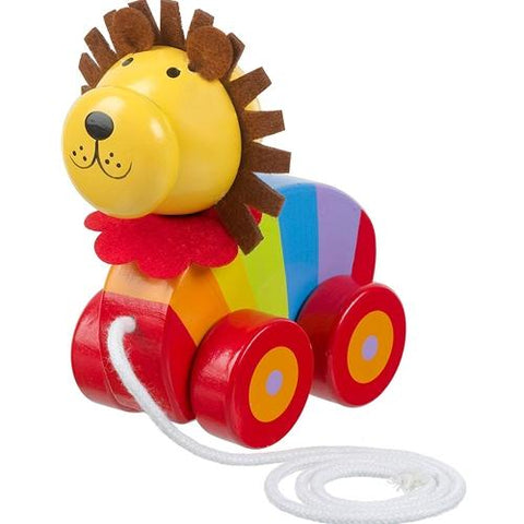 Orange Tree Toys Lion Pull Along
