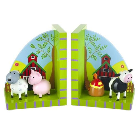 Orange Tree Toys Farmyard Bookends