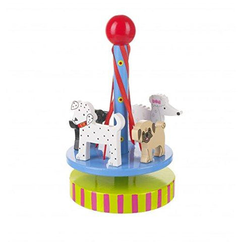 Orange Tree Toys Wooden Puppy Maypole Playset