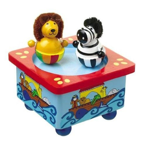 Orange Tree Toys Noah's Ark Music Box