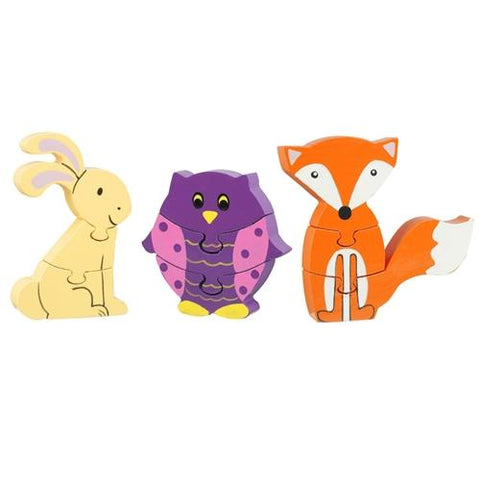 Orange Tree Toys Woodland Puzzles