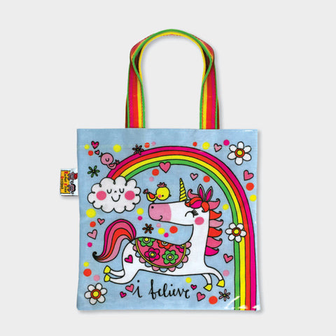 Rachel Ellen Unicorn Tote Bag