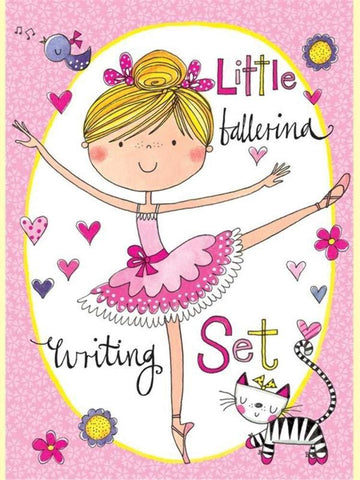 Rachel Ellen Ballerina Writing Set