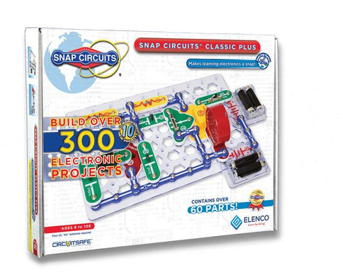 Elenco Snap Circuits Classic Plus Electronics Kit SC-310 (formerly SC-300)