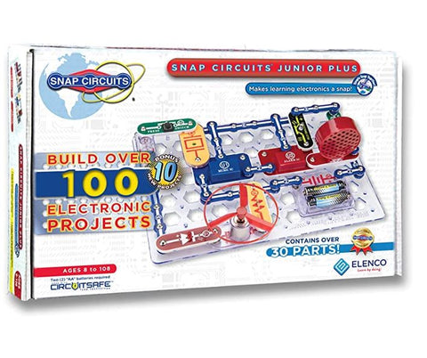 Elenco Snap Circuits Junior Plus Electronics Kit SC-110 (upgraded SC-100)