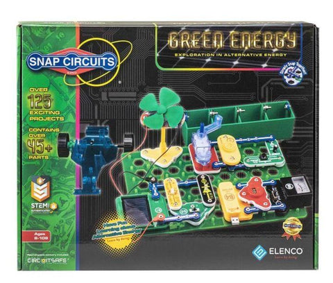 Elenco Snap Circuits Green Energy Electronics Kit SCG-225