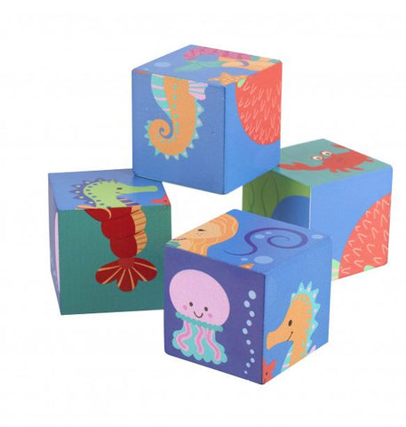 Orange Tree Toys Sealife Building Blocks