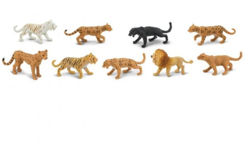 Safari Toob Big Cats Miniatures