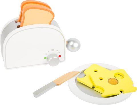 Legler Small Foot Toaster and Breakfast Set