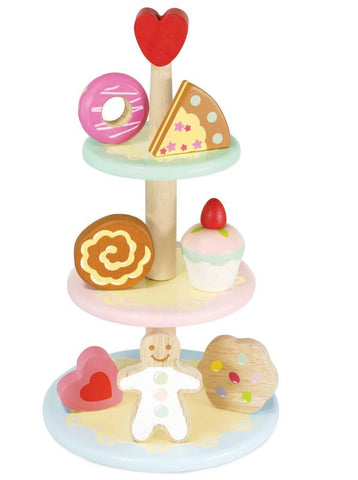 Le Toy Van Three-Tier Afternoon Tea Cake Stand
