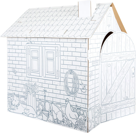 Legler Cardboard Farm Playhouse