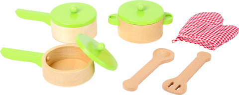 Legler Play Kitchen Cookset