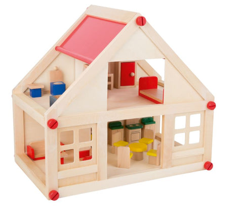 Legler Small Foot Doll's House with Furniture
