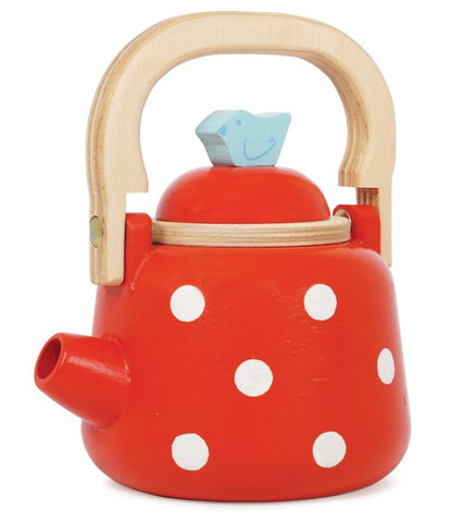 Le Toy Van Honeybake Red Dotty Kettle