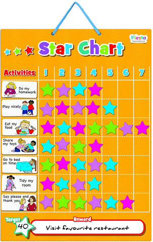 Fiesta Crafts Magnetic Star Chart (Small)
