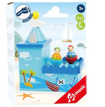 Legler Pirate Music & Money Box