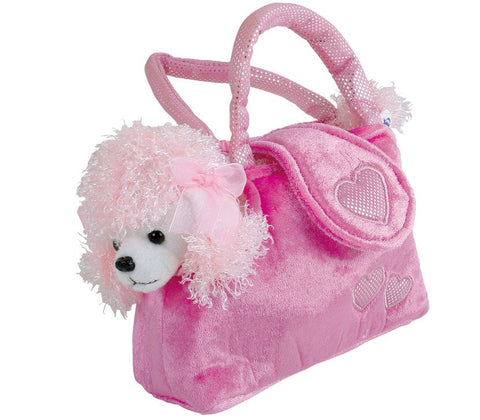 Legler Small Foot Plush Poodle in a Bag