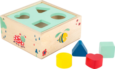 Legler Small Foot Shape Sorter Box