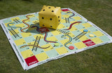 Traditional Garden Games Snakes and Ladders Game 2m x 2m