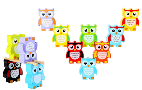 Legler Stacking Owls