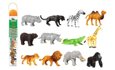 Safari Ltd Toob Wild Animals Miniatures