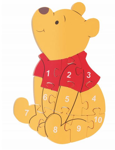 Orange Tree Toys Winnie The Pooh Number Puzzle