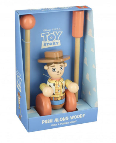 Orange Tree Toys Toy Story Woody Push Along