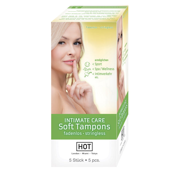 Intimate Care Soft Tampons 5 Pieces - KinkyDiva