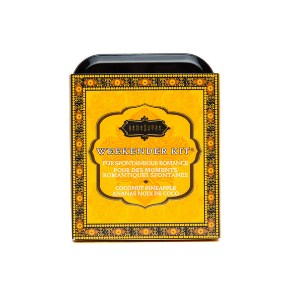 KinkyDiva Kama Sutra Weekender Kit In A Tin Coconut Pineapple £23.99