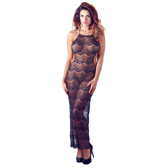 KinkyDiva Mandy Mystery Backless Long Dress £21.99