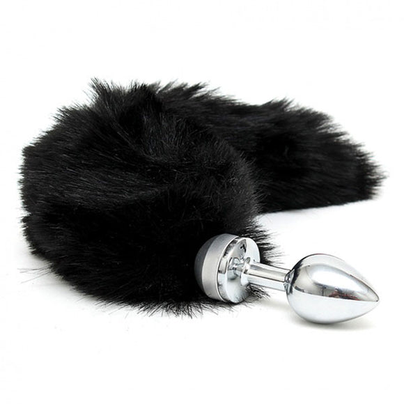 KinkyDiva Small Butt Plug With Black Tail £49.99
