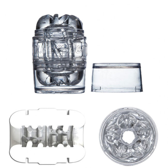 Fleshlight Quickshot Vantage Clear - kinkydiva-com