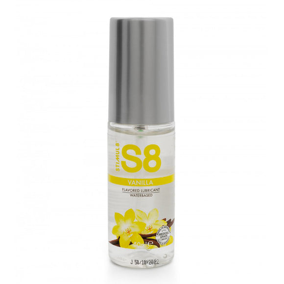 S8 Vanilla Flavored Lube 50ml - kinkydiva-com