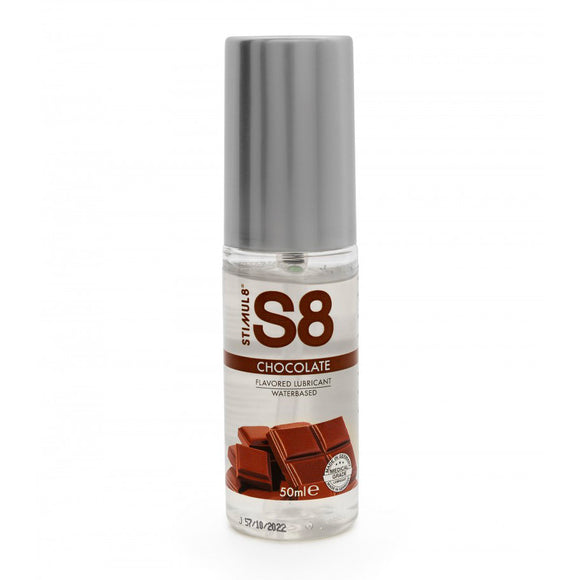 S8 Chocolate Flavored Lube 50ml - kinkydiva-com