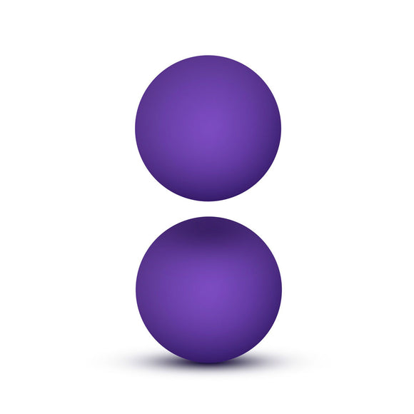 KinkyDiva Luxe Purple Double O Kegel Balls Weighted 0.8 Ounce £11.49