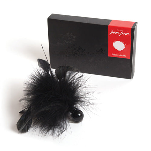 Bijoux Indiscrets Pom Pom Feather Tickler - KinkyDiva