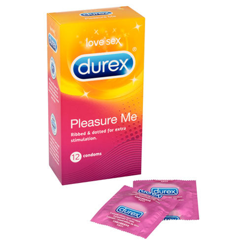 Durex Pleasure Me 12 Pack Condoms - kinkydiva-com