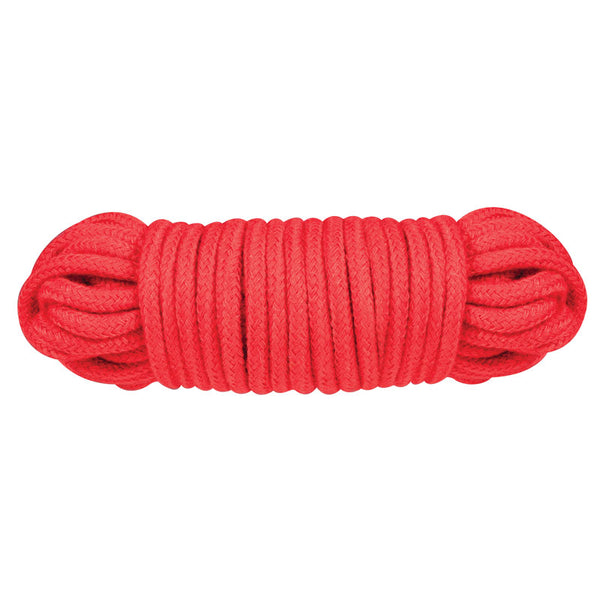 Red 10 Metre Sex Extra Love Rope Red - kinkydiva-com