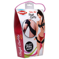 Frisky Take Me Thigh Cuffs - kinkydiva-com